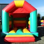 12 Foot by 12 Foot Plain Bouncing Castle